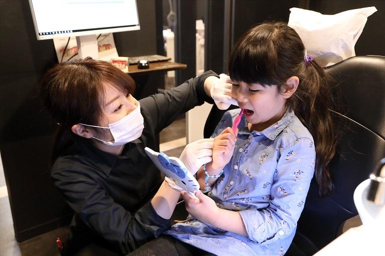 安心できる小児歯科