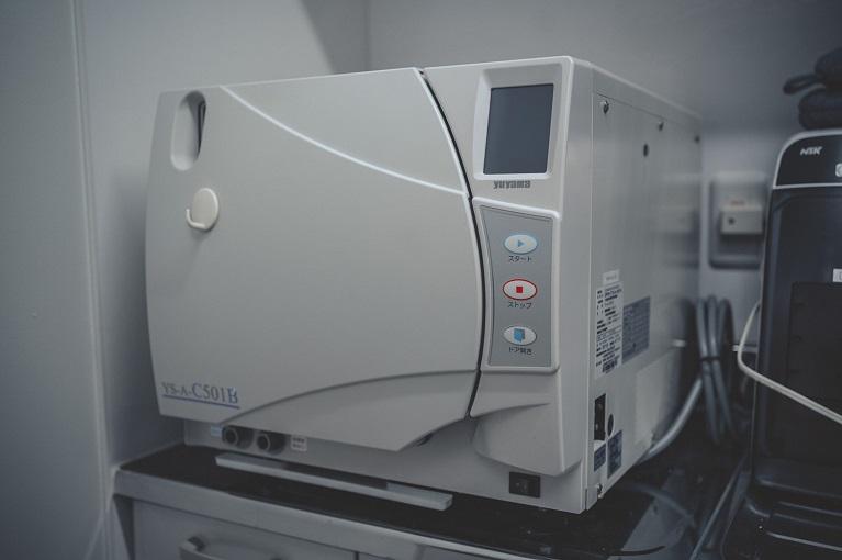 世界基準(クラスB)準拠の滅菌機